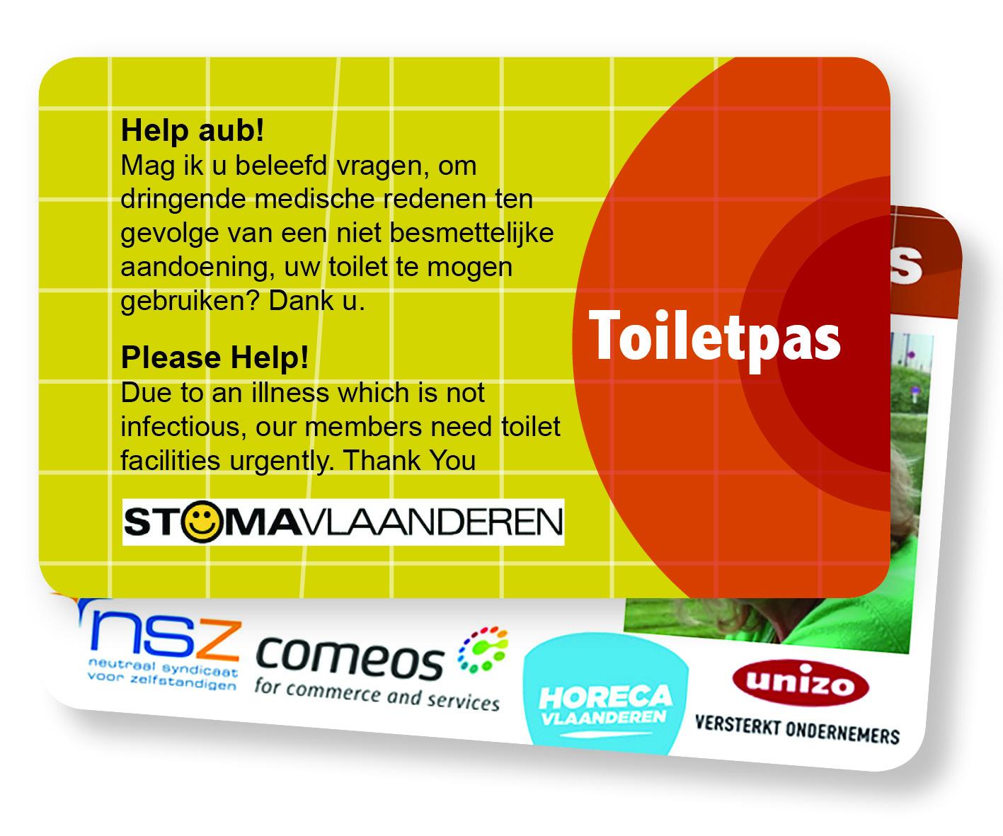 Bestel een toiletpas