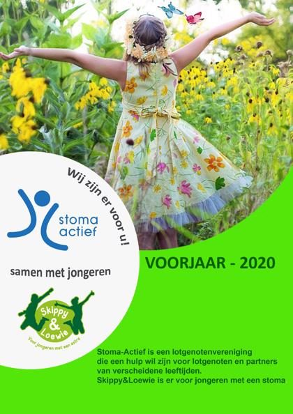 stoma actief, cover, voorjaar